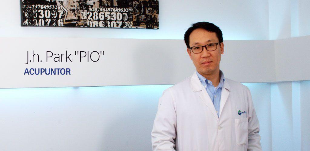 """J.H. Park """"Pio"""", acupuntor"""