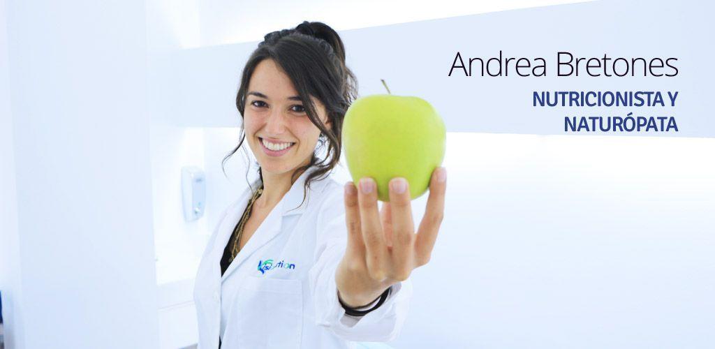 Andrea Bretones Cordero, Nutricionista y Naturópata