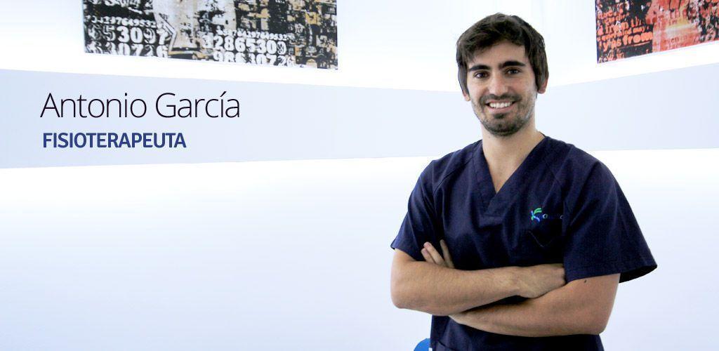 Antonio García González, fisioterapeuta